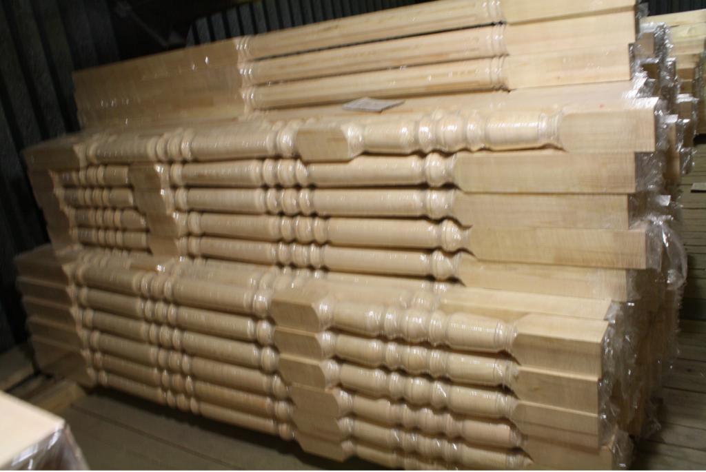 Колонна из хвойных пород дерева 100*100*3000 сорт А